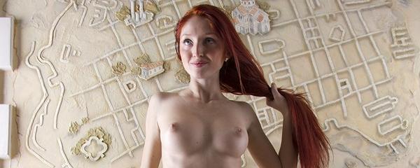 Michelle – Long hair redhead