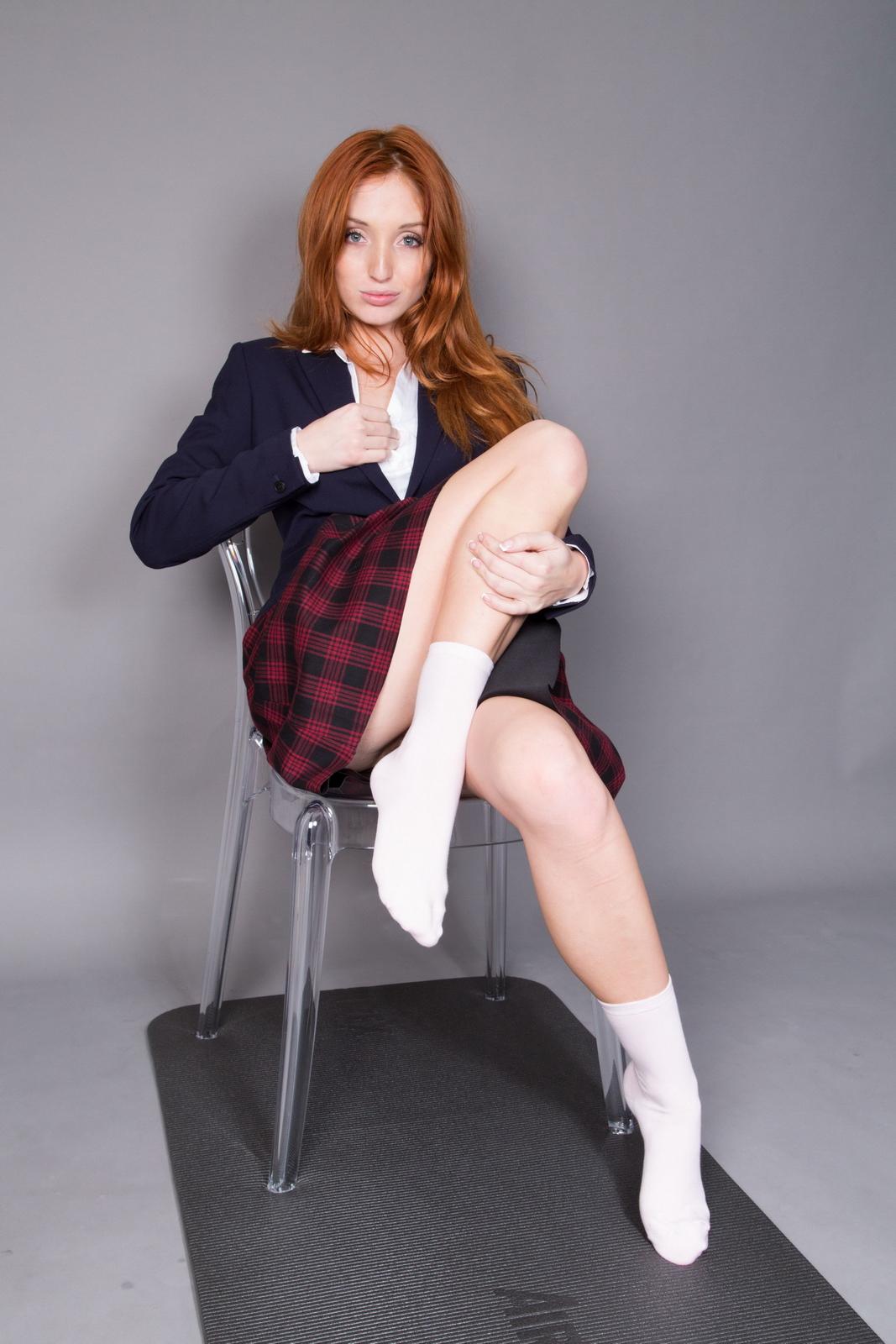 schoolgirl-redhead-pussy
