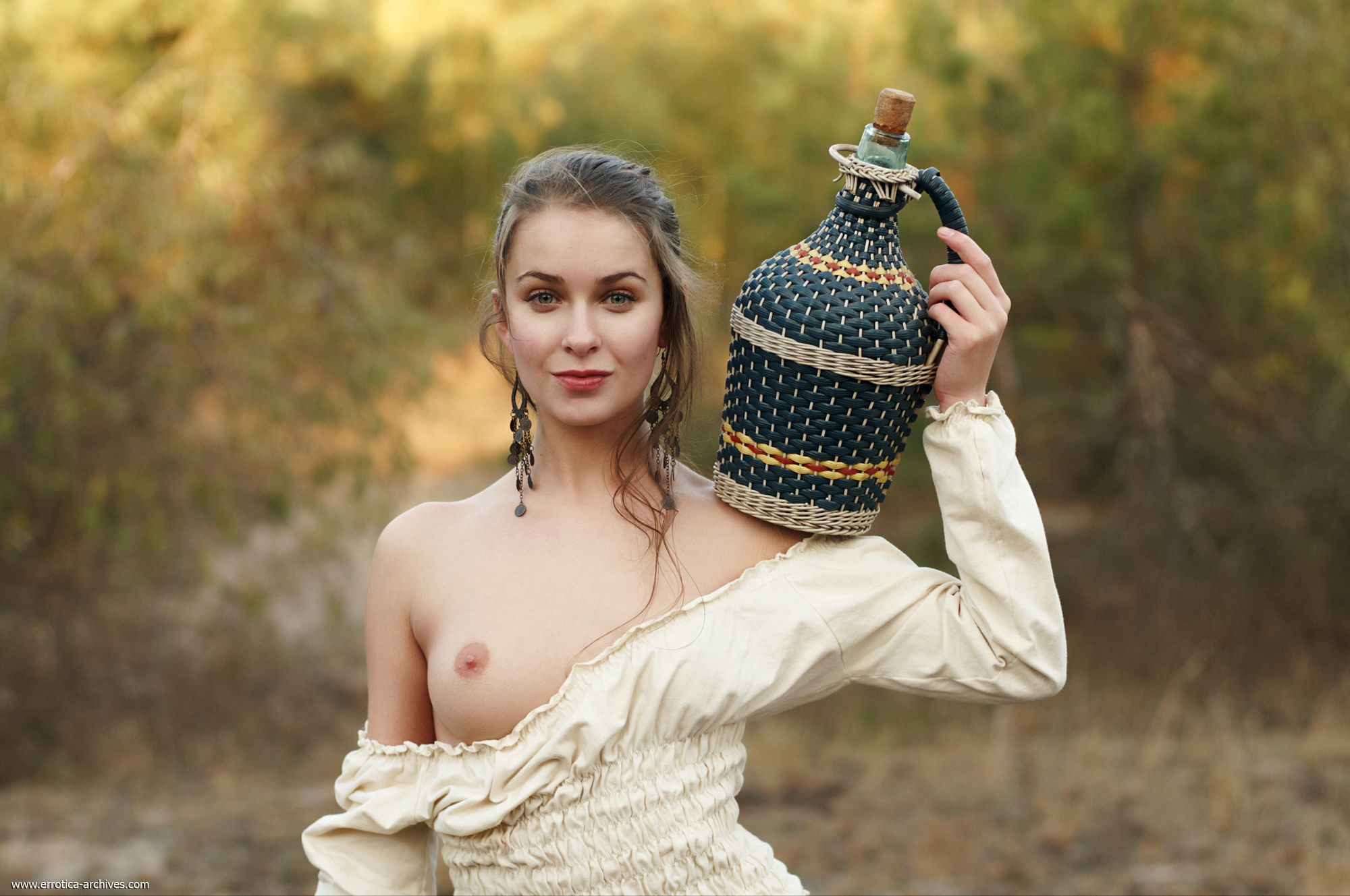 milana-naked-jug-wine-grapes-outdoor-errotica-archives-02