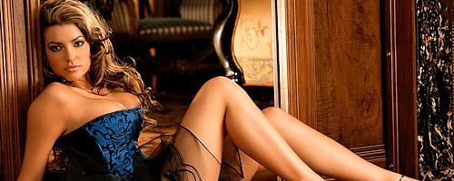 Monica Leigh in fancy corset