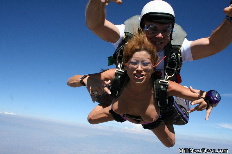 Naked skydiving videos