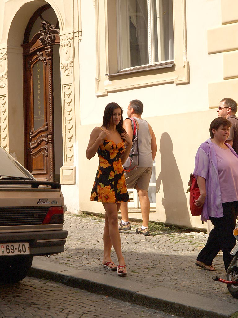 Nude girl in prague — 14