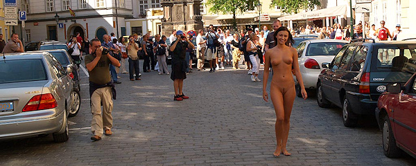 Jirina – Naked tourist girl