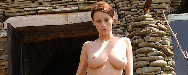 Nastiya – Nude girl with whip