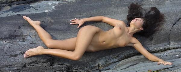 Natasha in the bosom of nature