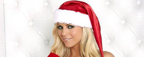 Nicole Graves naughty for Christmas