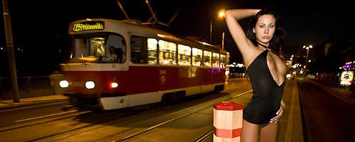 Nikita Black – Night walk around the city