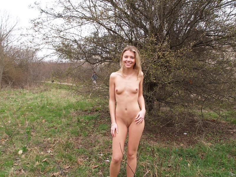 Public Nackt