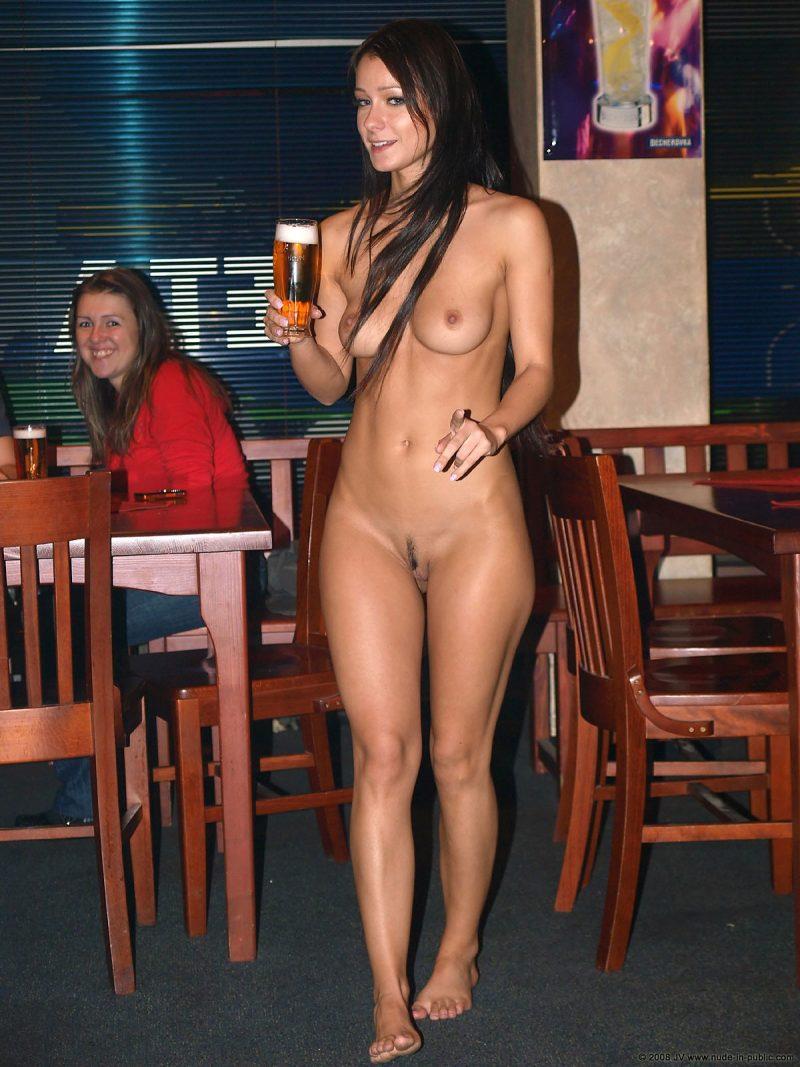 Public nude chicks