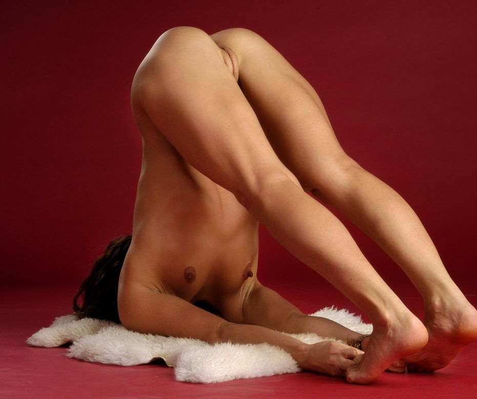 nude japanese yoga