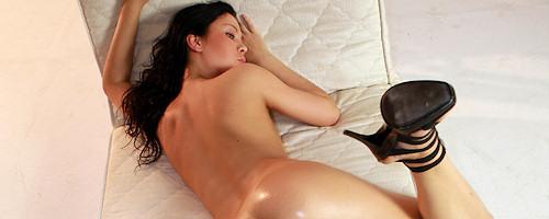 Oiled Nikita Black