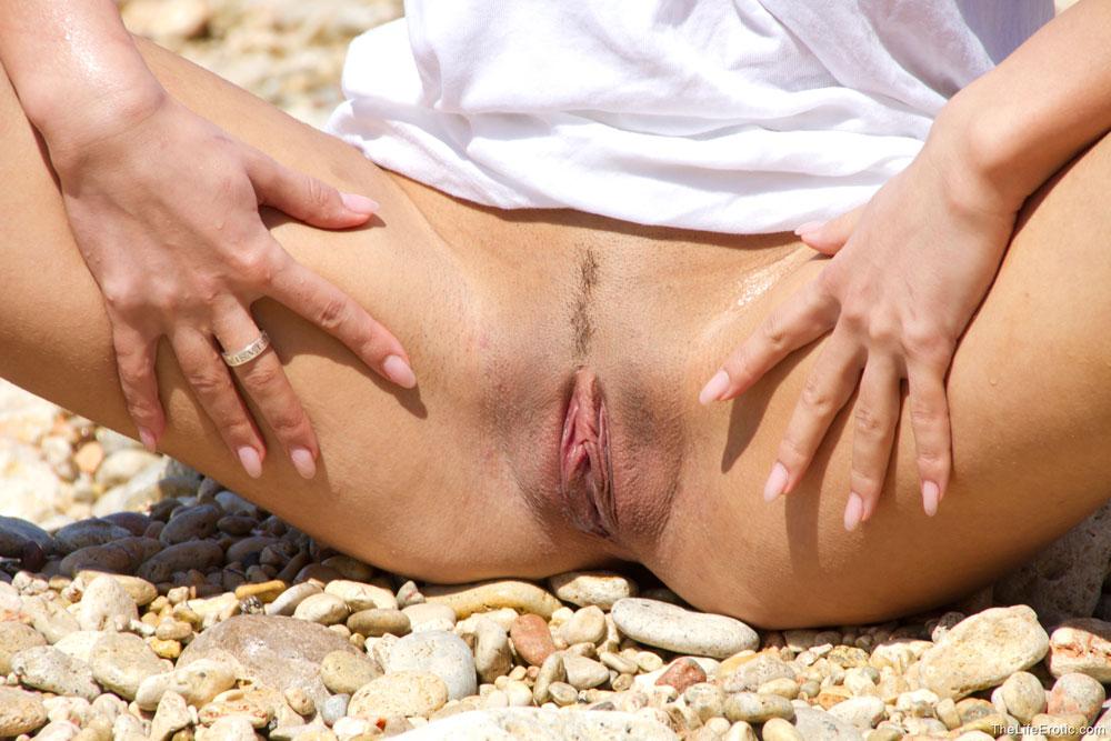 Влагалища на пляже, трах на карусели