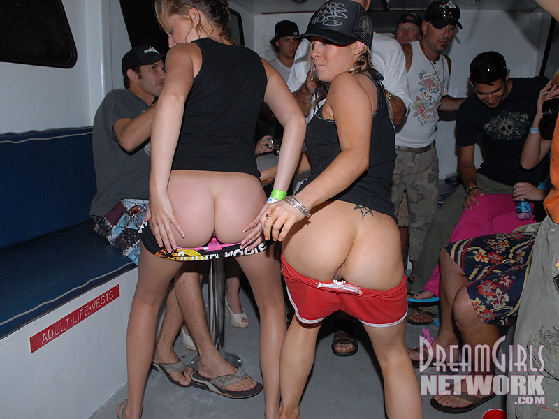 from Javon boat babe nude party