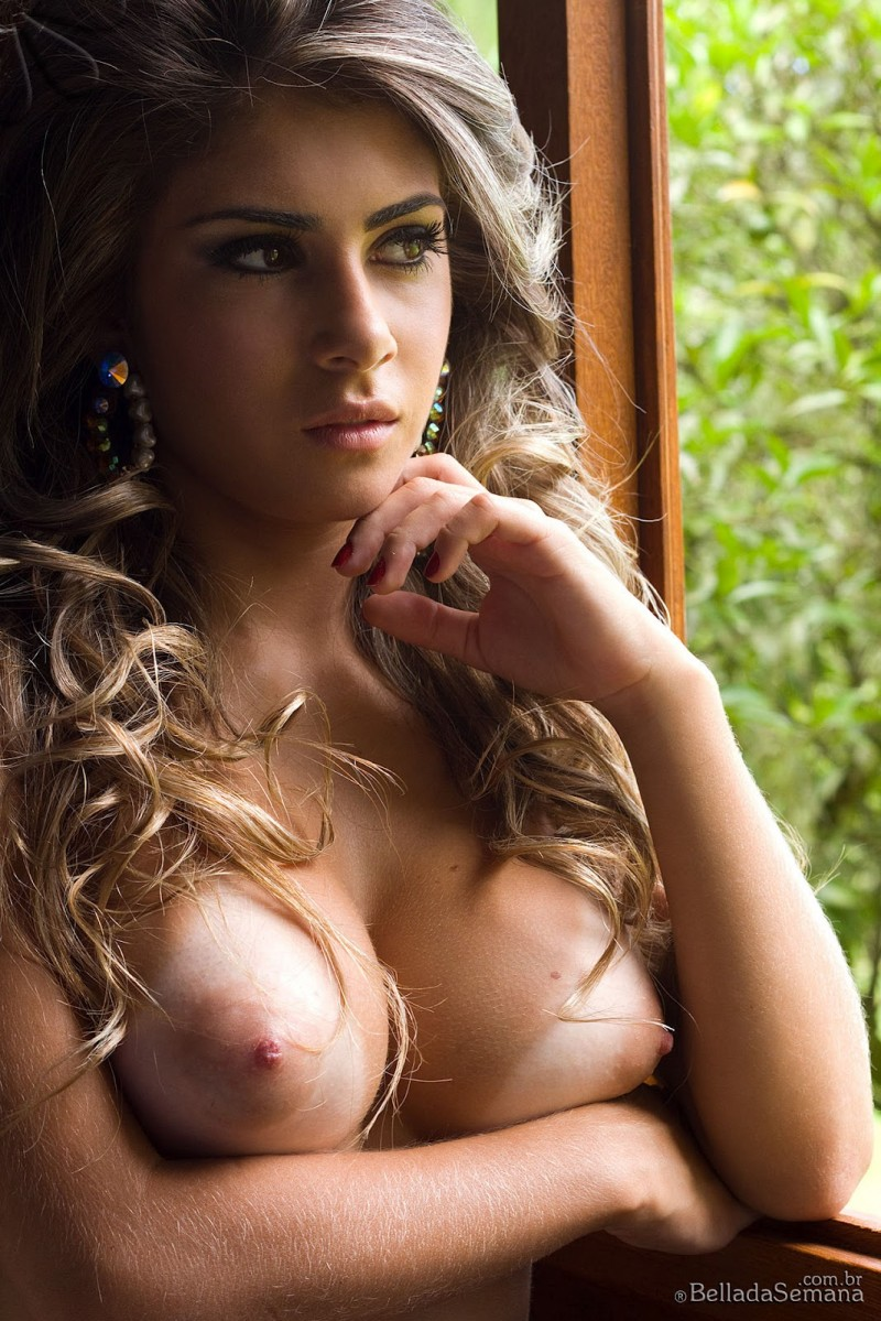 Paula Rebello  Sexy Brazilian Beauty - Redbust-6049
