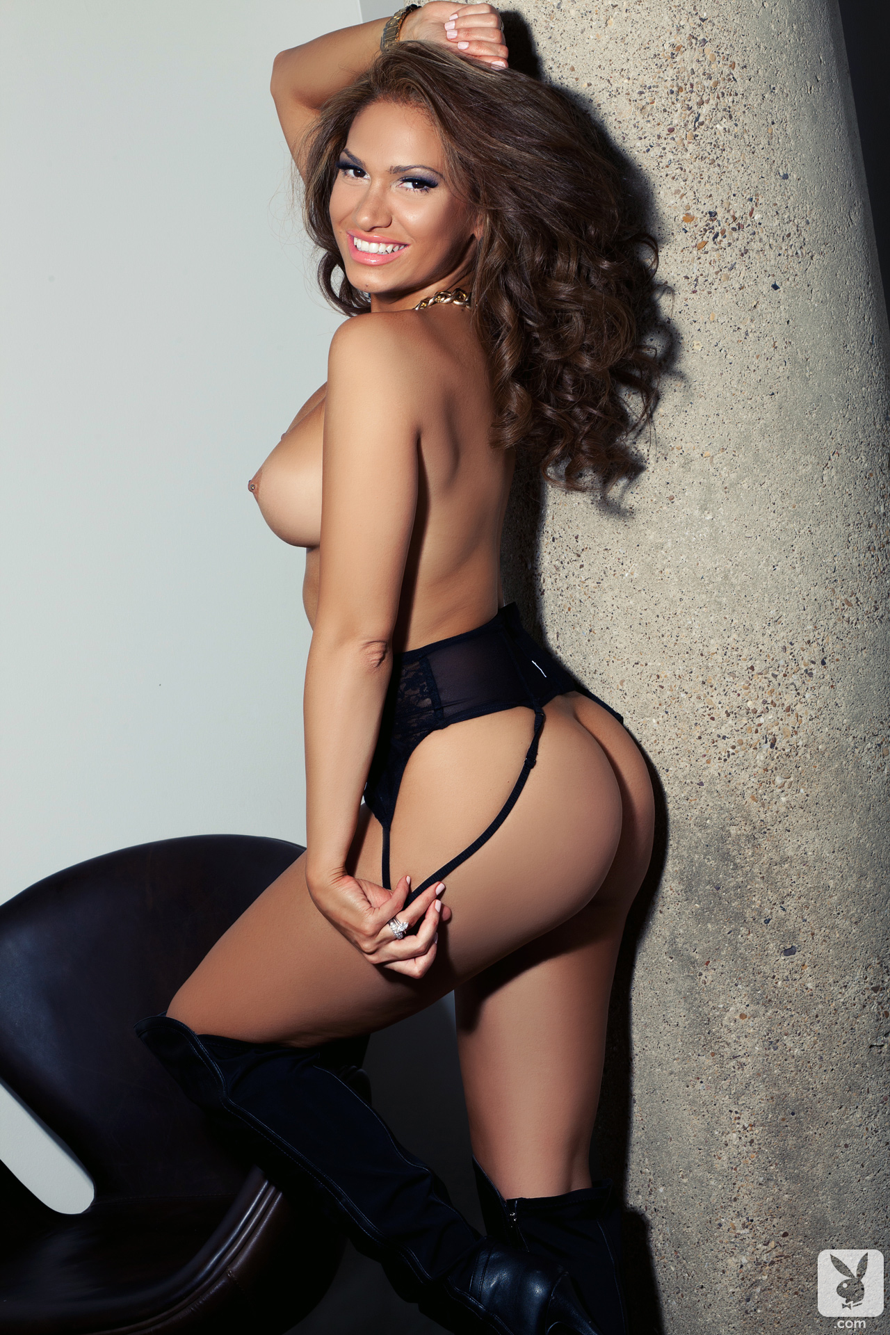 Reby sky knee high boots nude playboy 14 RedBust
