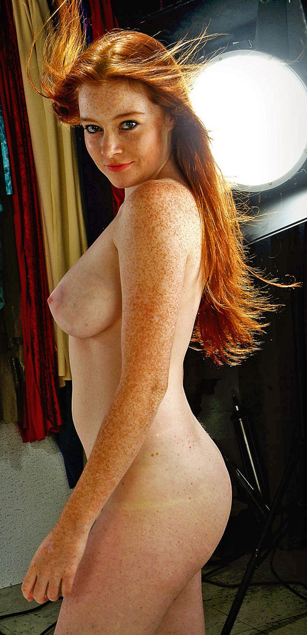 Only nude redhead business