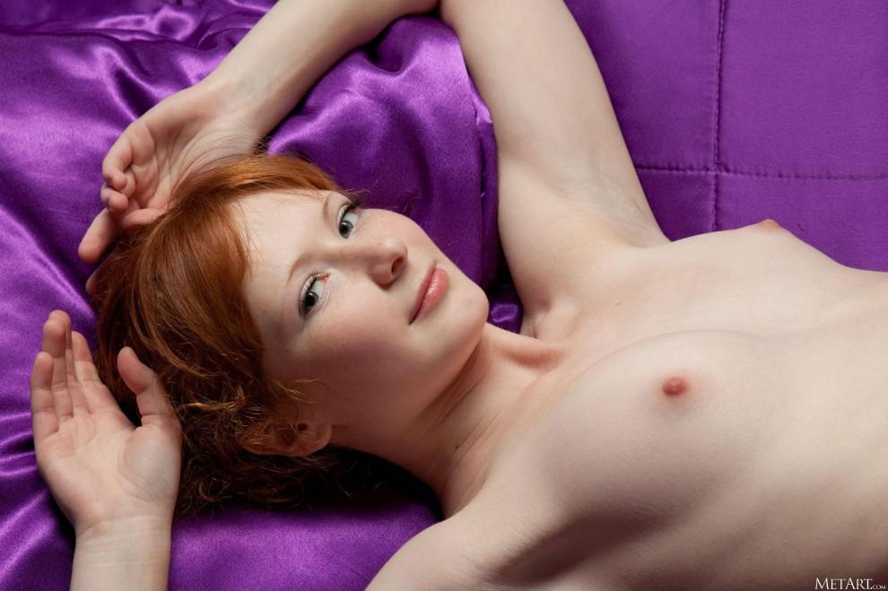 Thin redhead orgasm 9