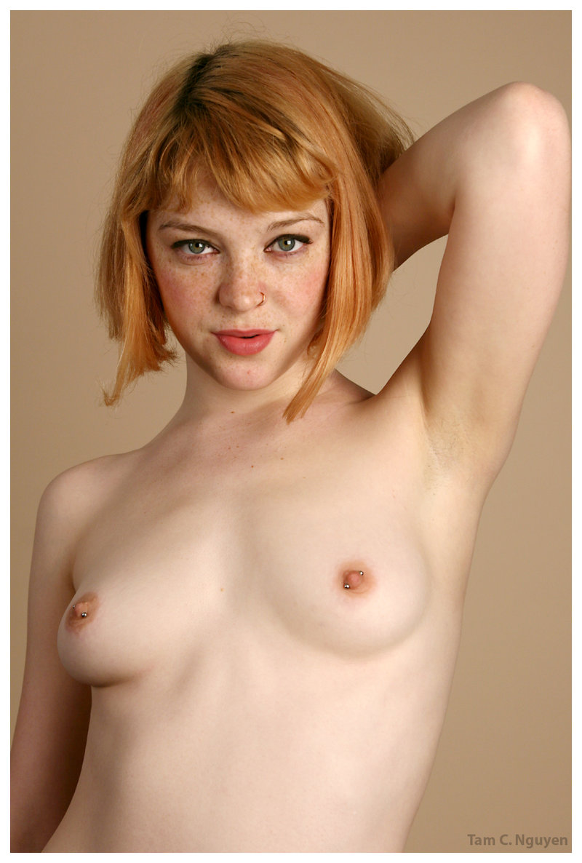 Pierced Nipples Dildo Ride