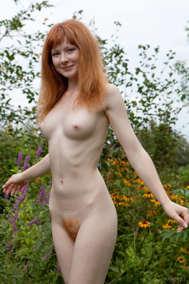 Rothaarig nackt