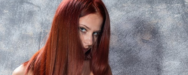 Rufina in red hair