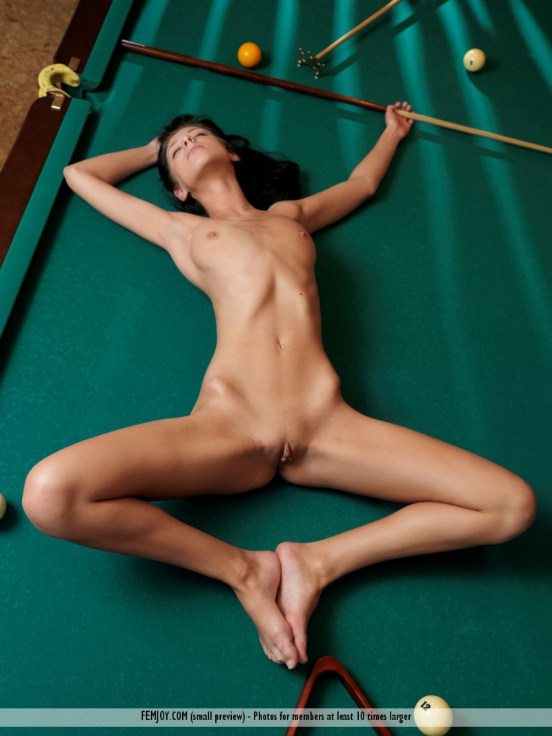 pool table naked