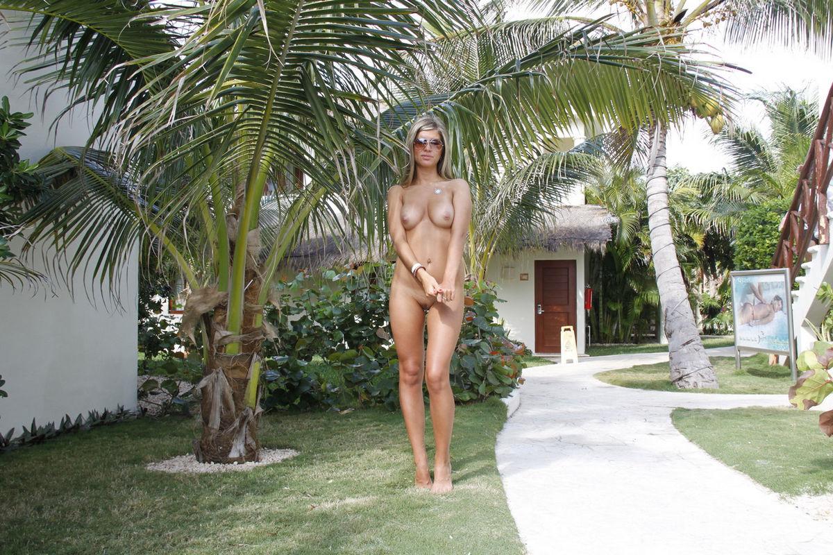 частное жену на курорте