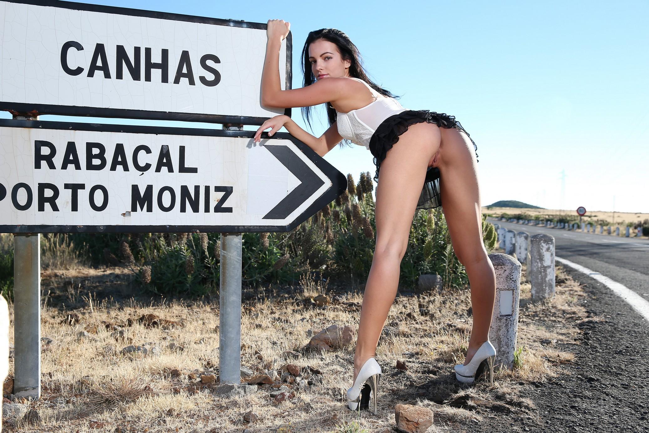 sapphira-naked-madeira-road-high-heels-brunette-w4b-16