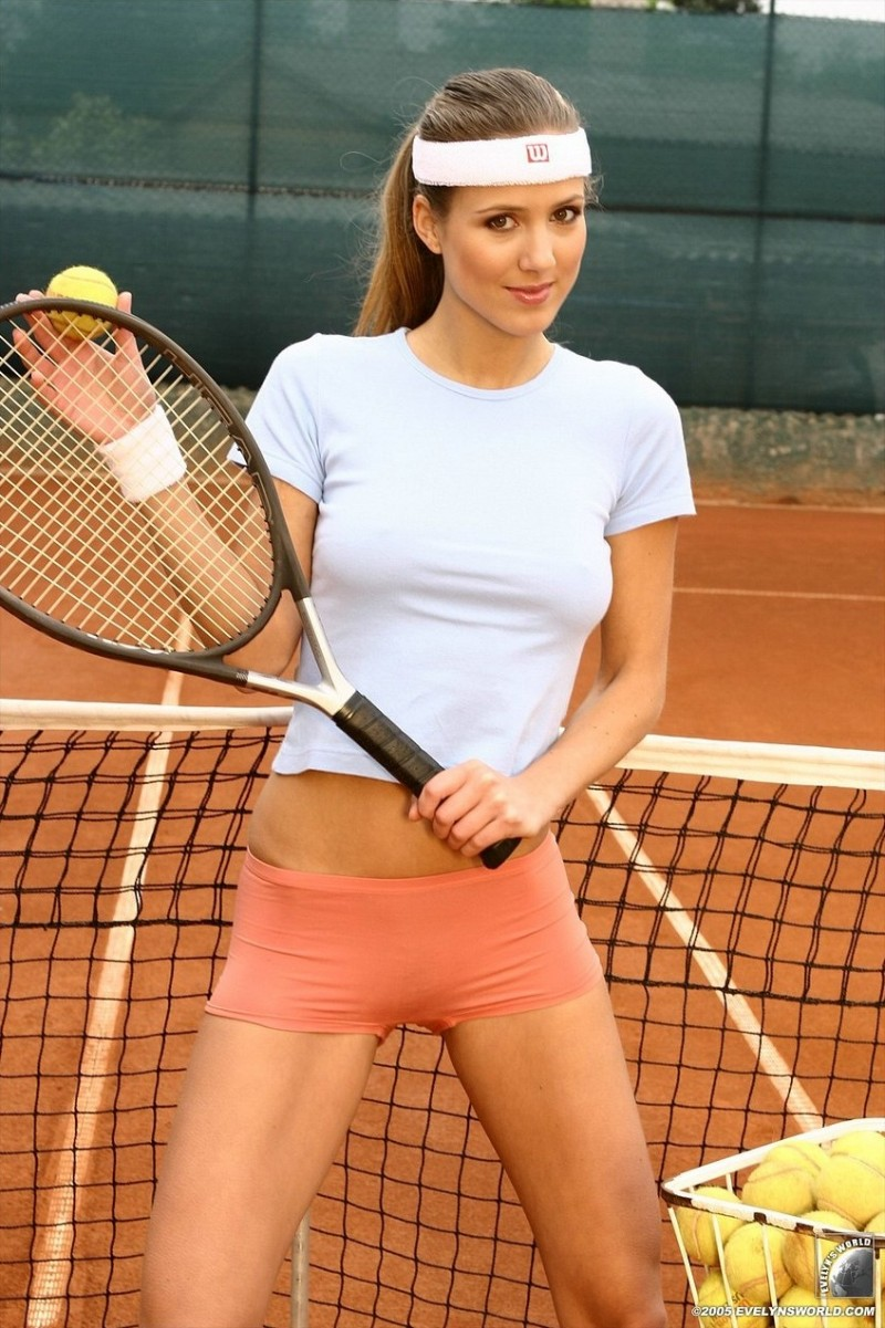 female tennis players pussy
