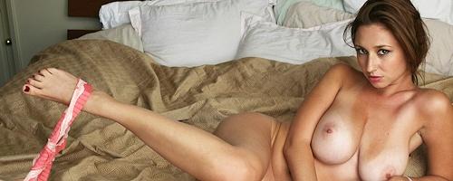 Shay Laren in bedroom