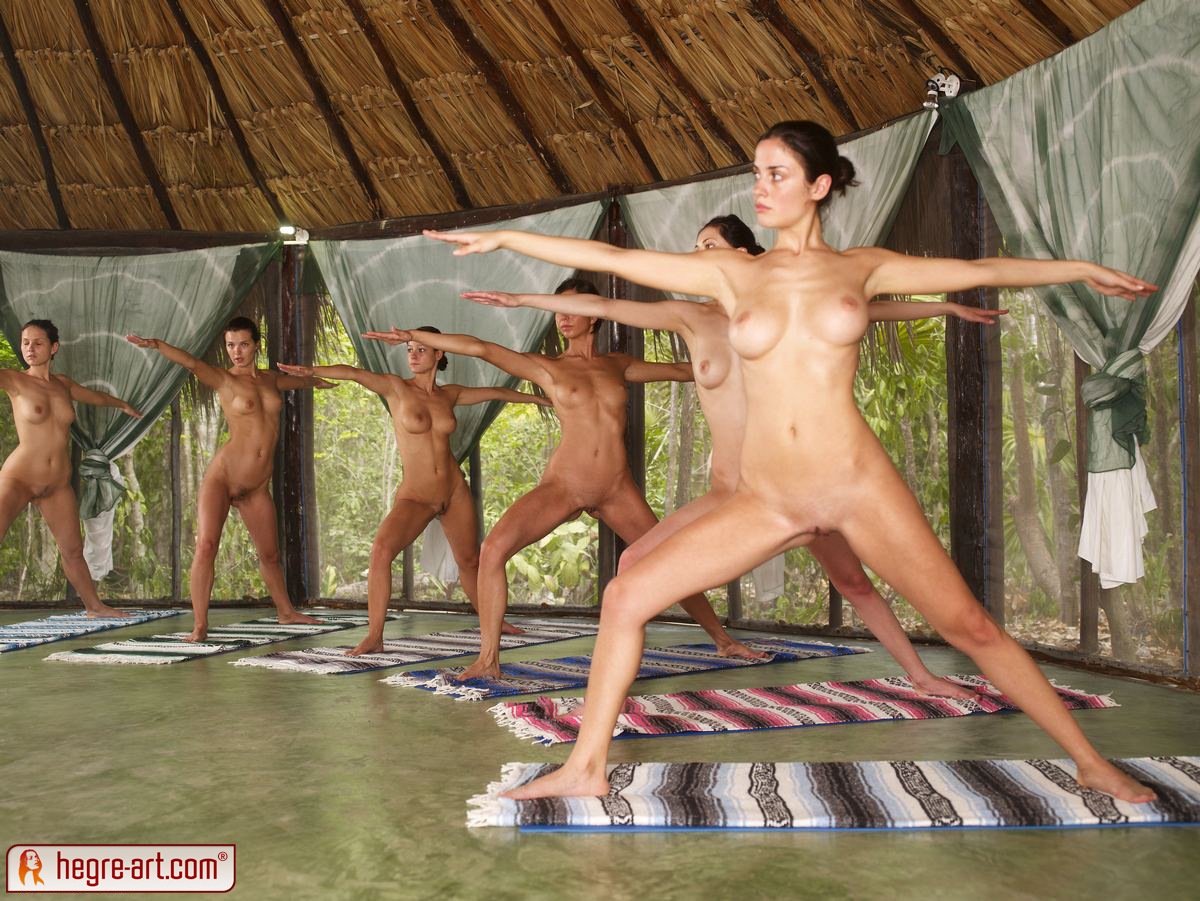Good Naturist yoga rear position people amateur opinion you