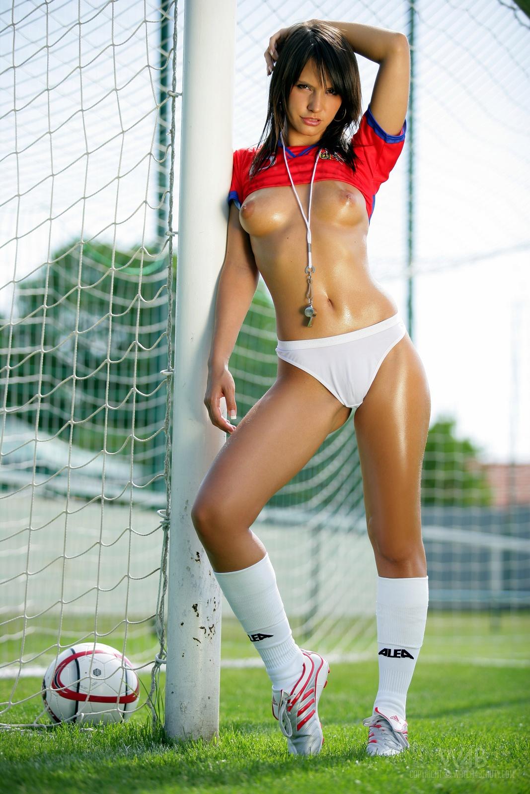 female soccer nude