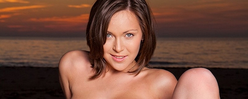 Sophia – Sunset on the beach