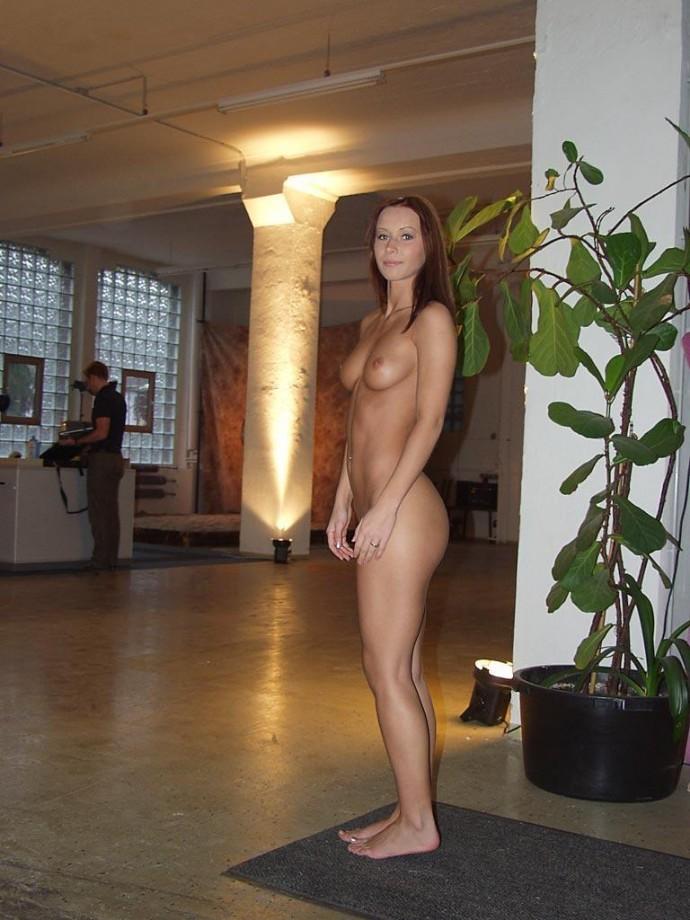 video nude in public