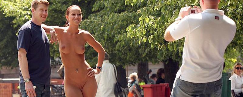 Susana Spears nude in public vol.4