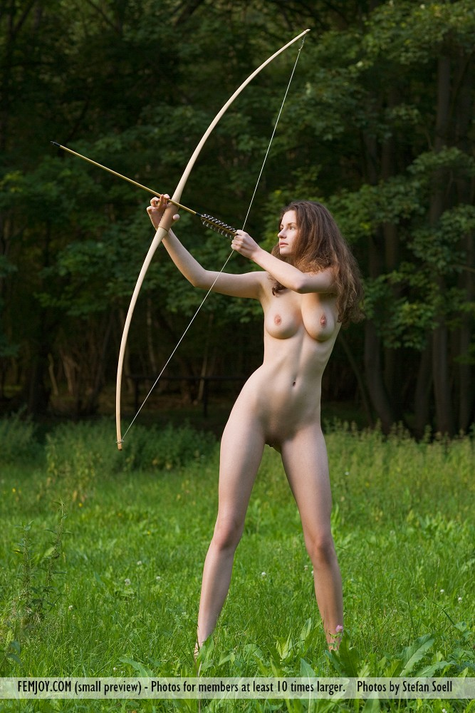 Babes archery nude girl