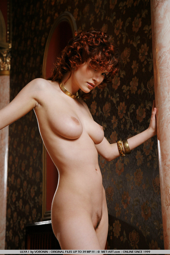 Curly hair redhead roommate nude agree with