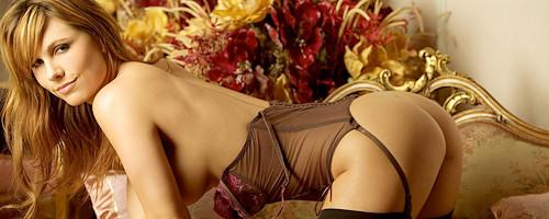 Valerie Baber in sexy lingerie
