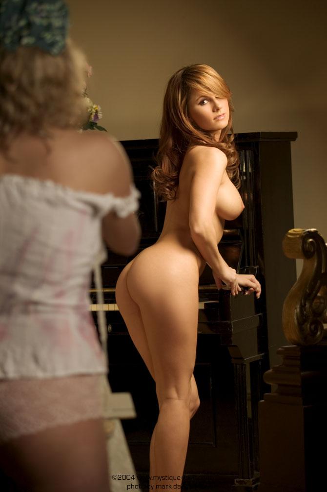 Valerie baber lingerie almost