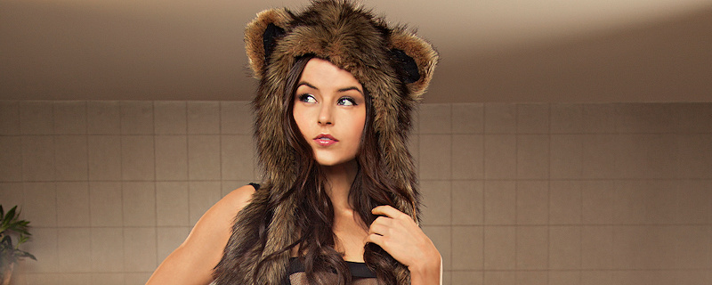 Veronica LaVery – Bear trapper hat