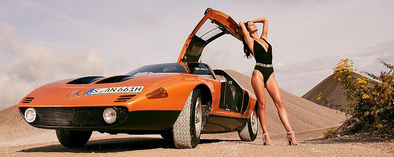 Veronika Klimovits & Mercedes-Benz C111