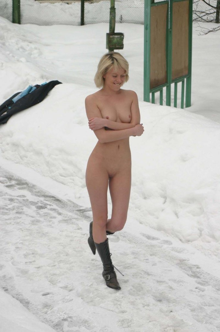 winter nude