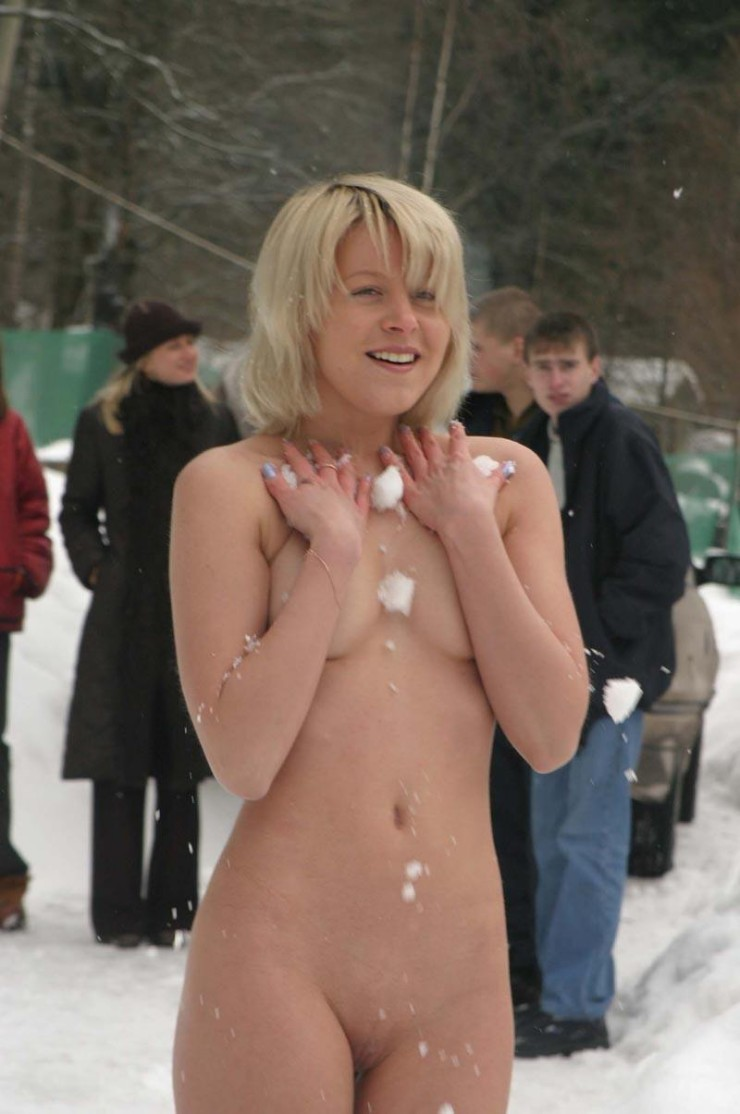 Fantasy Nude girl public snow can consult