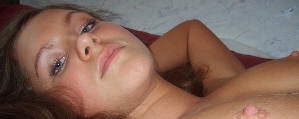 Young amateur girl from Russia