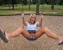 Foxy Jacky at the playground