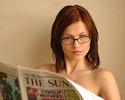 Iga Wyrwal – Morning newspaper
