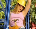 Sexy labourer