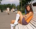 Vika nude in public vol.2