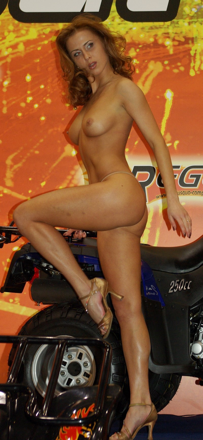 Girls on Moto Show