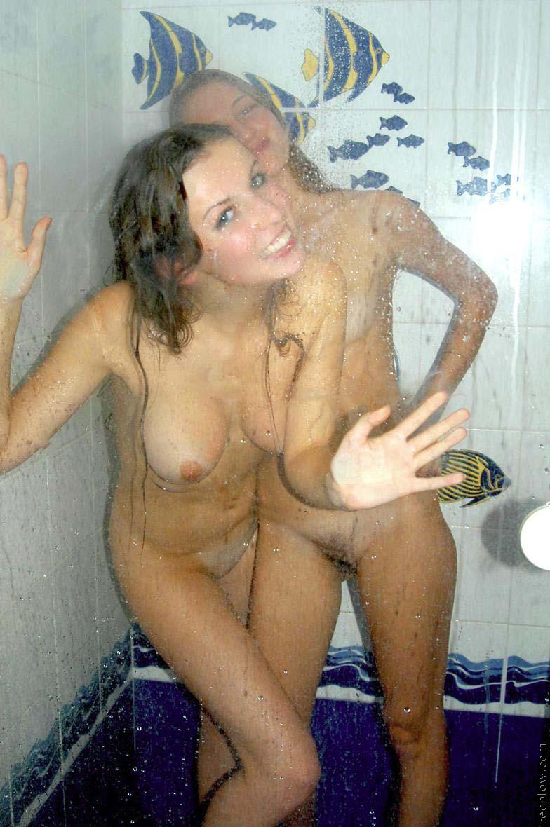 girl on girl in shower