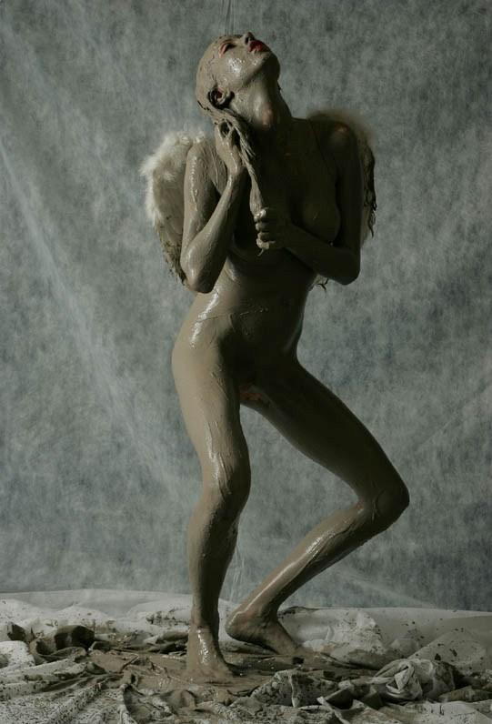 from Nico nude skinny girl in bathroom